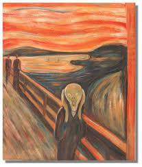Norveçli ressam Edvard Munch'ün ünlü tablosu, 'The Scream'